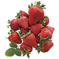 Light Size Giant Strawberries