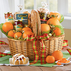 Holiday Abundance Deluxe Basket